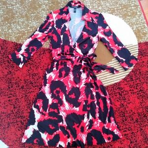 DVF Justin Wrap Dress